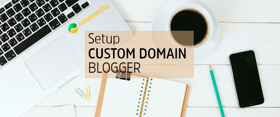 setup custom domain blogger